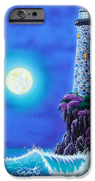 Moonlight Vigil iPhone Case by Angie Hamlin
