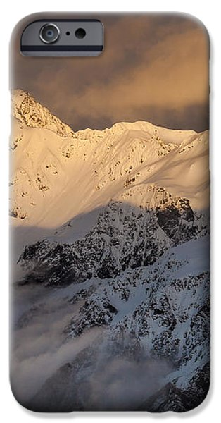 Mount Rolleston At Dawn Arthurs Pass Np iPhone Case by Colin Monteath