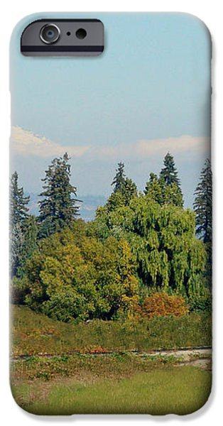 Mt. Adams In The Country iPhone Case by Athena Mckinzie