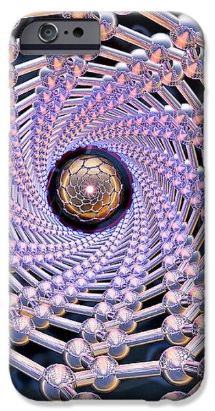 Nanotube Technology iPhone Case by Laguna Design