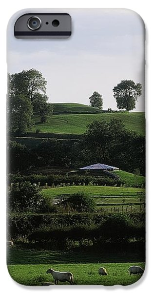 Navan Fort, Co. Armagh, Ireland iPhone Case by The Irish Image Collection