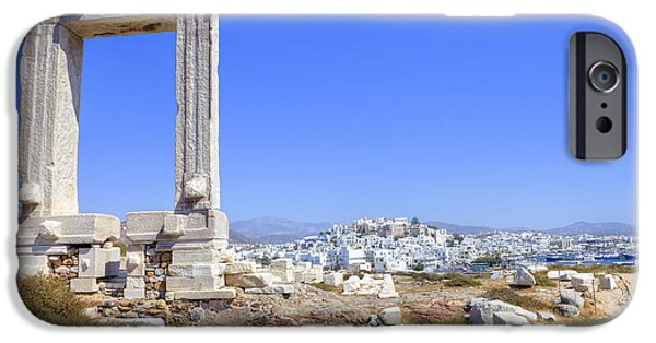 Monolith iPhone Cases - Naxos - Cyclades - Greece iPhone Case by Joana Kruse