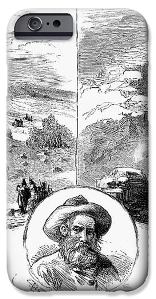 NEZ PERCE CAMPAIGN, 1877 iPhone Case by Granger