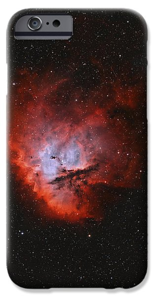 Ngc 281, The Pacman Nebula iPhone Case by Rolf Geissinger