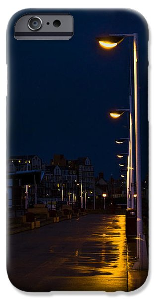 Night Lamp iPhone Cases - Night Lights iPhone Case by Svetlana Sewell