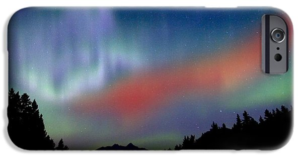 Recently Sold -  - Fog Mist iPhone Cases - Northern Lights iPhone Case by Richard Wear