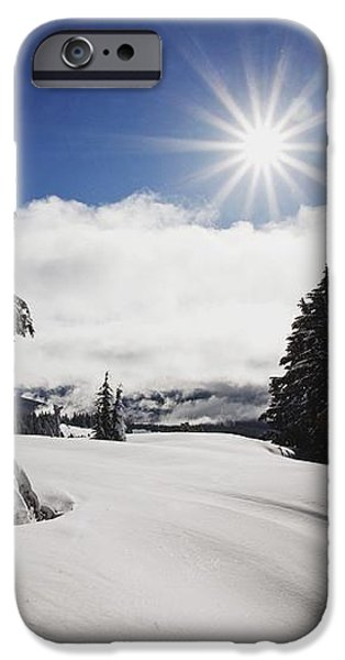 Oregon Cascades, Oregon, United States iPhone Case by Craig Tuttle