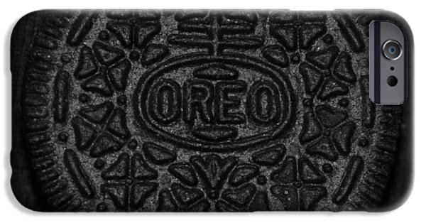 Oreo iPhone Cases - O R E O iPhone Case by Rob Hans