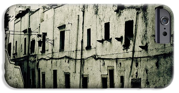 Alley iPhone Cases - Ostuni - Apulia iPhone Case by Joana Kruse