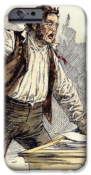 OWEN LOVEJOY (1811-1864) iPhone Case by Granger