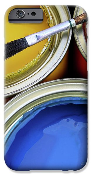 Diy iPhone Cases - Paint Cans iPhone Case by Carlos Caetano