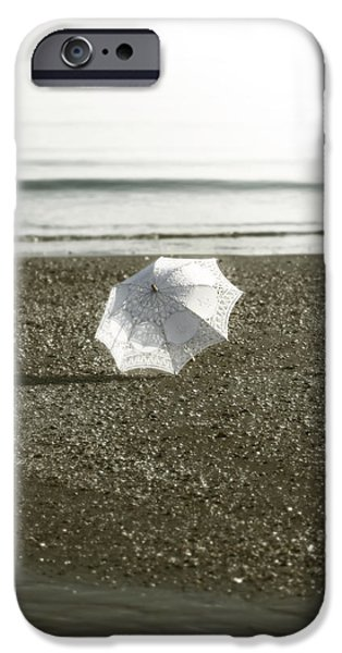 Umbrella Photographs iPhone Cases - Parasol iPhone Case by Joana Kruse
