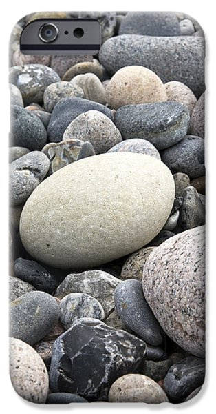 Pebbles iPhone Cases - Pebbles iPhone Case by Frank Tschakert