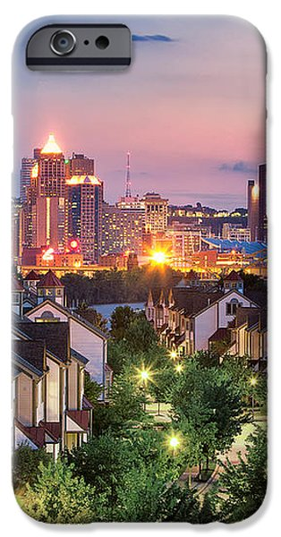 Pittsburgh 7 iPhone Case by Emmanuel Panagiotakis