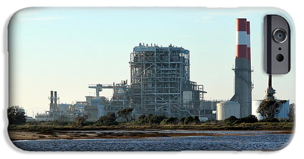 Business Photographs iPhone Cases - Power Station iPhone Case by Henrik Lehnerer