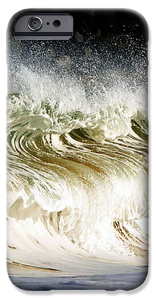 Powered by nature iPhone Case by Cedric Darrigrand
