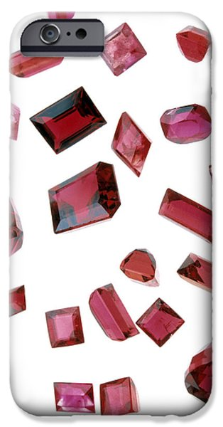 Precious Gemstones iPhone Case by Lawrence Lawry
