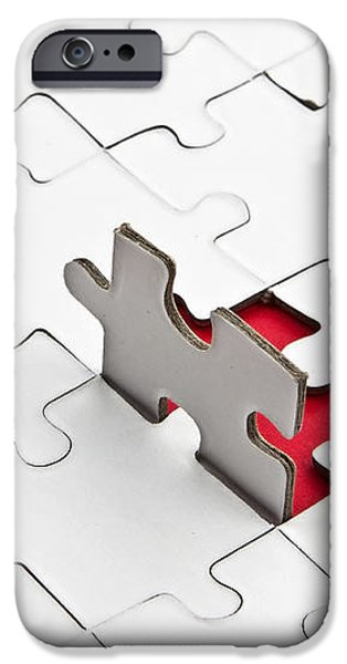 Puzzle iPhone Case by Joana Kruse
