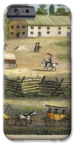 QUAKER MEETING, 1811 iPhone Case by Granger