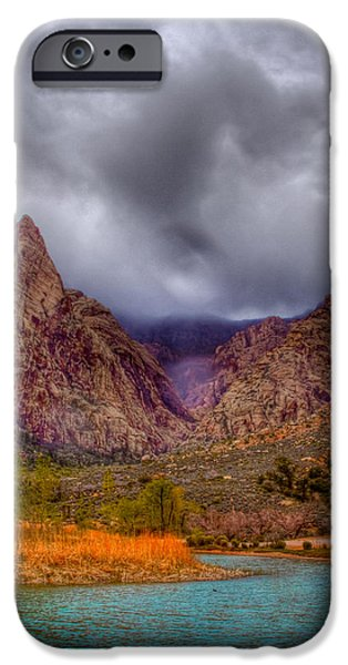 Red Rock Canyon iPhone Case by David Patterson