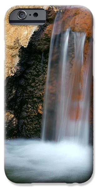 Red Waterfall iPhone Case by Carlos Caetano