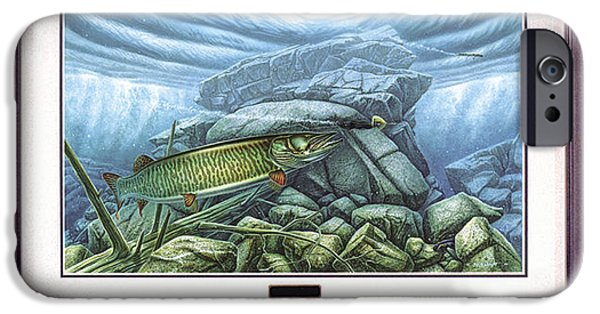 Tackle iPhone Cases - Reef King Musky iPhone Case by JQ Licensing