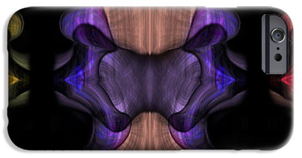Business Paintings iPhone Cases - Reptilian Trio iPhone Case by Christopher Gaston