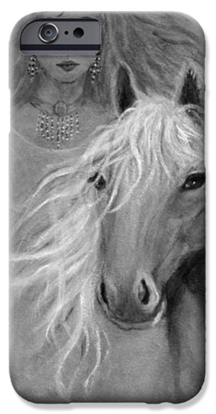 Rhiannon iPhone Case by The Art With A Heart By Charlotte Phillips