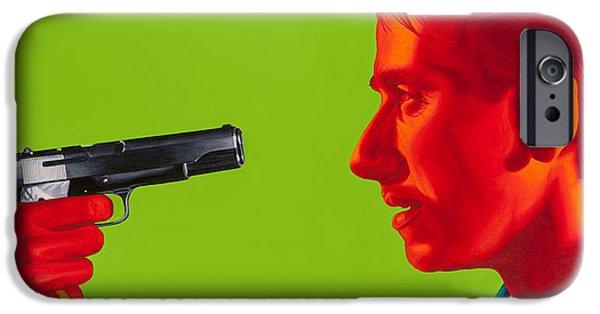Tim Paintings iPhone Cases - Ringo iPhone Case by Ellen Patton