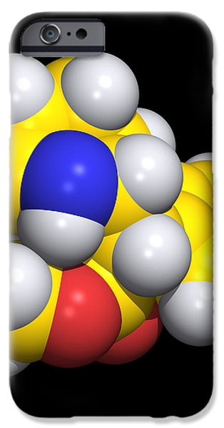 Ritalin Molecule iPhone Case by Dr Tim Evans