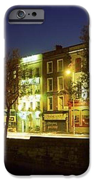 River Liffey, Dublin, Co Dublin, Ireland iPhone Case by The Irish Image Collection