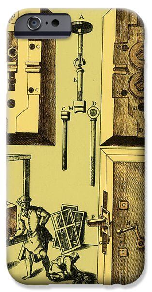 Printmaking iPhone Cases - Rolling Mill For Lead Strips iPhone Case by Photo Researchers