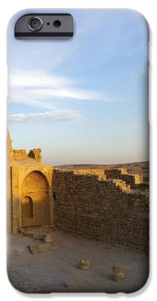 Ruins of Shivta Byzantine Church iPhone Case by Nir Ben-Yosef
