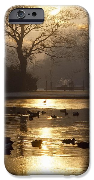 Saint Stephens Green, Dublin, Co iPhone Case by The Irish Image Collection