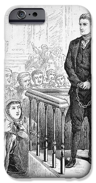 SALEM WITCH TRIAL, 1692 iPhone Case by Granger