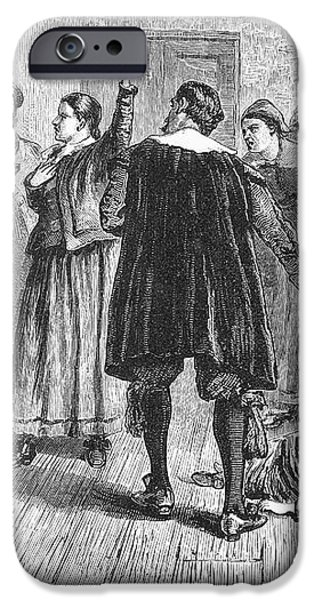 SALEM WITCH TRIALS, 1692 iPhone Case by Granger