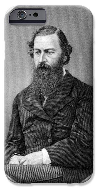 Samuel Baker, British Explorer iPhone Case by