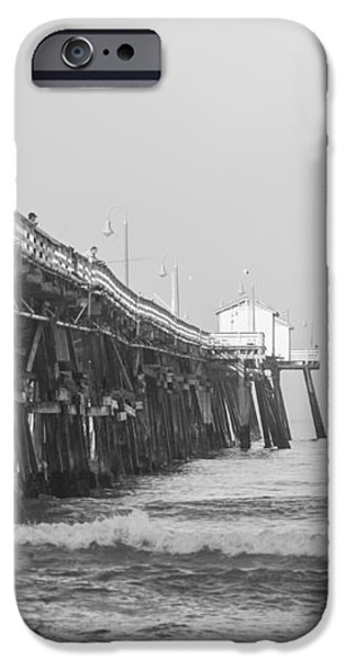 san clemente pier iPhone Case by Ralf Kaiser