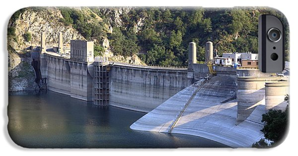 West Fork iPhone Cases - San Gabriel Dam iPhone Case by Viktor Savchenko