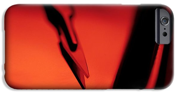 Stainless Steel iPhone Cases - Scalpel iPhone Case by Tek Image