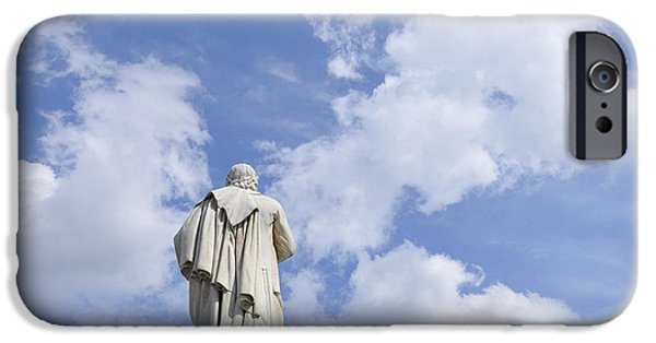 Famous Figures iPhone Cases - Schiller Monument in Berlin iPhone Case by Matthias Hauser