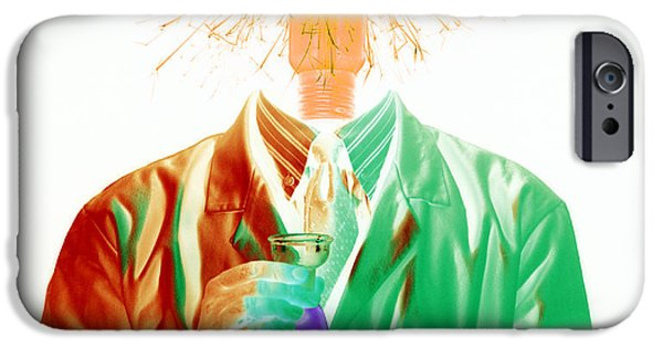 Electrical Equipment iPhone Cases - Scientific Research iPhone Case by Victor De Schwanberg