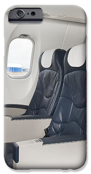 Seats on an Airliner iPhone Case by Jaak Nilson