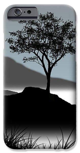 Serene iPhone Case by Chris Brannen