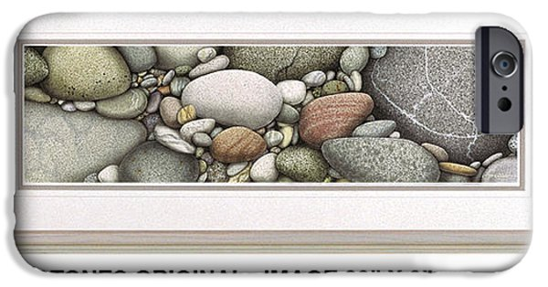 Duluth iPhone Cases - Shore Stones iPhone Case by JQ Licensing