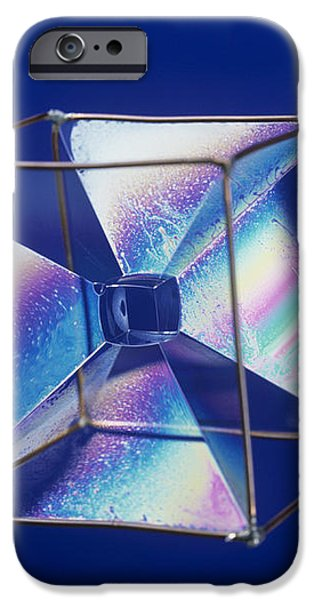 Soap Films On A Cube iPhone Case by Andrew Lambert Photography