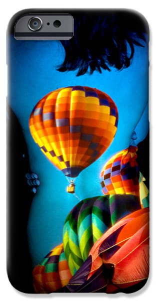 Hot Air Balloon iPhone Cases - Soarin Beauty iPhone Case by Greg Fortier