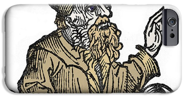 Orator iPhone Cases - Socrates, Greek-athenian Philosopher iPhone Case by Photo Researchers