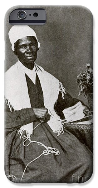 Sojourner Truth, African-american iPhone Case by Photo Researchers