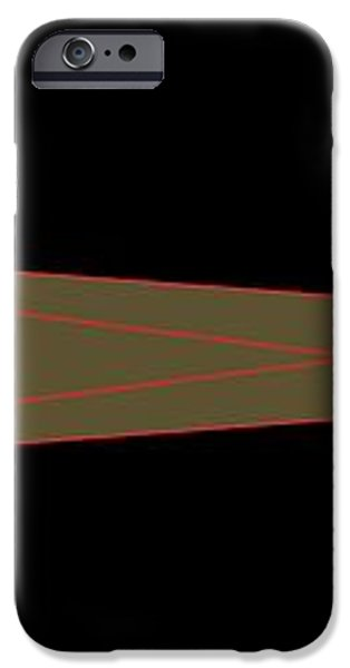 Solar Eclipse Geometry, Computer Artwork iPhone Case by Gary Hincks